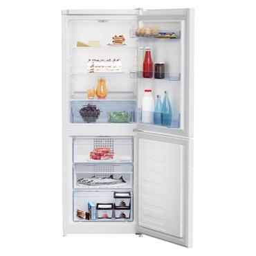 Beko 153cm 50/50 Frost Free Combi Fridge Freezer - White | CFG3552W