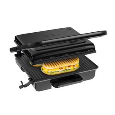 Tefal Inicio Adjust Versatile Panini Health Grill 2000W 6-8 Portion - Black | GC242840