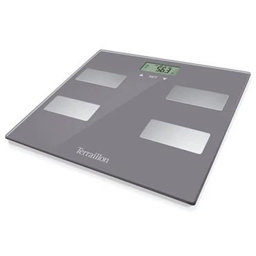Terraillon Scan Slim Bathroom Scale - Grey |