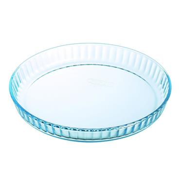PYREX 27CM FLUTED FLAN/QUICHE DISH