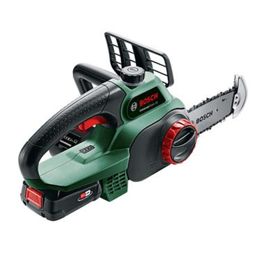 Bosch Universalchain 18V 20cm Cordless Battery Chainsaw Battery Included | 06008B8070