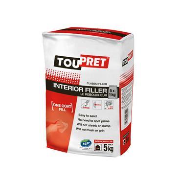 Toupret Interior Filler 5kg | TINF0500