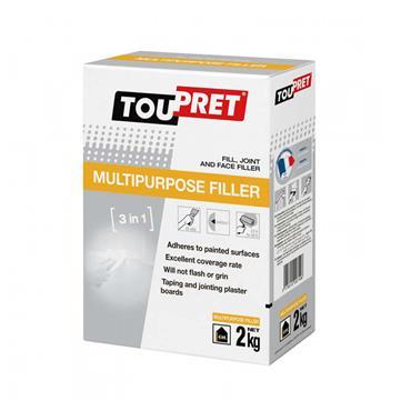 Toupret Multipurpose Filler 2kg | TMPF0200