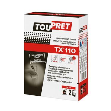 Toupret TX110 Rapid Drying Filler 2kg | TTXR0200