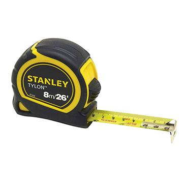 Stanley Tylon Pocket Tape 8m/26ft (Width 25mm) Carded | STA030656N