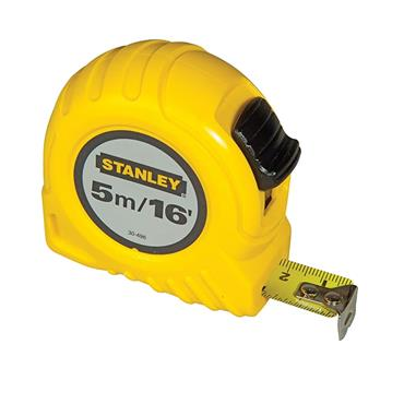 STANLEY POCKET MEASURING TAPE 5M/16FT