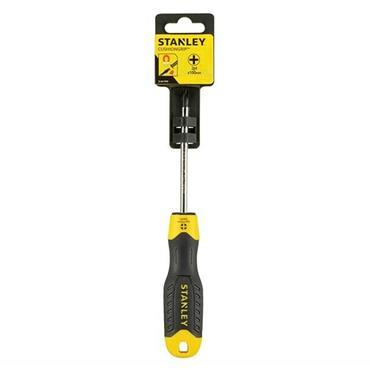 Stanley Cushion Grip Screwdriver Phillips Tip PH2 x 100mm   STA064940