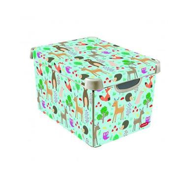 Curver Woodland Decorated Storage Box 40cm x 30cm x 25cm | CUR243354