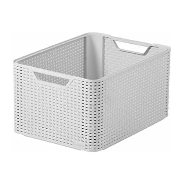 Curver Style Storage Box Large - White | CUR205496