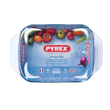 Pyrex Oblong Roaster 31cm x 20cm 2.1 Litre | PX0407