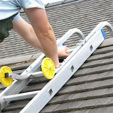 Easy Fix Universal Roof Ladder Hook And Wheels