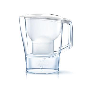 Brita Aluna Maxtra+ Plus 2.4 Litre Water Filter Jug & 2 x Cartridges - White   S0740