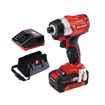 Einhell Power X-Change Brushless Impact Driver 18V 1 x 4.0Ah Li-Ion | EINTECI18BL