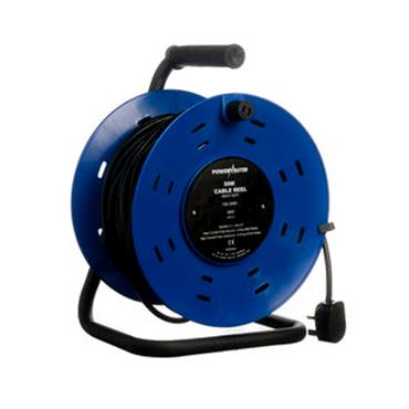 POWERMASTER 50 MTR 220V CABLE REEL | 1318-40