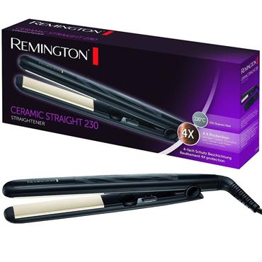 Remington Ceramic Variable Temperature Hair Straightener Black | S3500