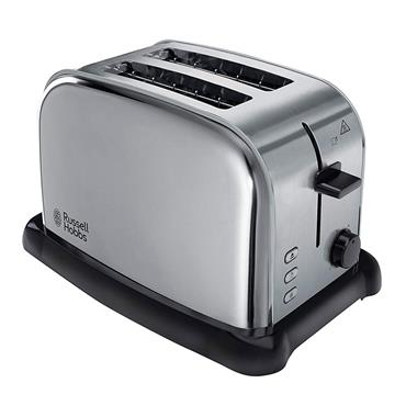 Russell Hobbs Wide Slot 2 Slice Toaster Stainless Steel | 22360