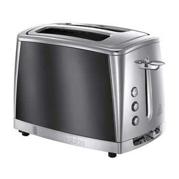 Russell Hobbs LUNA MOONLIGHT GREY 2 SLICE TOASTER | 23221