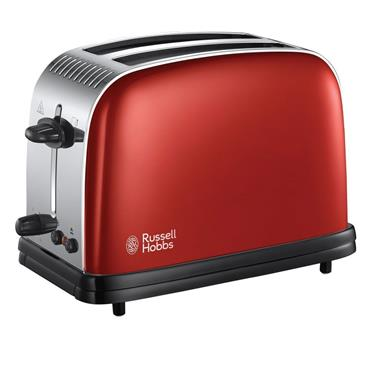 Russell Hobbs Colours Plus 2 Slice Toaster Red | 23330