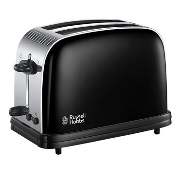 Russell Hobbs Colours Plus 2 Slice Toaster Black | 23331