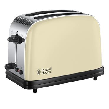 Russell Hobbs Colours Plus 2 Slice Toaster Cream | 23334