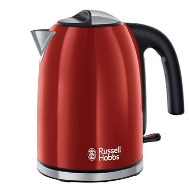 Russell Hobbs 1.7 Litre Colour Plus Kettle Flame Red | 20412