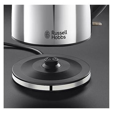 Russell Hobbs 1.7 Litre Henley Polished Steel Kettle | 23601