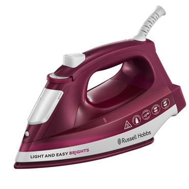 Russell Hobbs Light and Easy Brights Iron - Purple | 24820