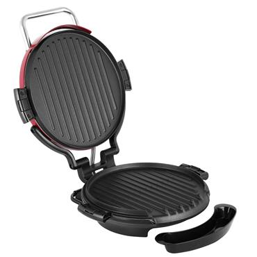 GEORGE FORMAN 7 PORTION ENTERTAINING 360 grill Red | 24640
