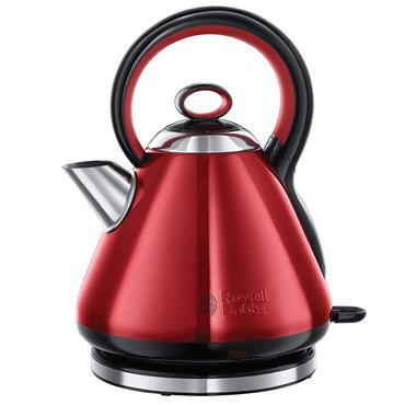 Russell Hobbs 1.7 litre Legacy Quiet Boil Kettle Red | 21885