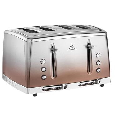 Russell Hobbs Eclipse 4 Slice Toaster Copper Sunset  | 25143