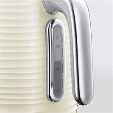 Russell Hobbs 1.7 Litre Rapid Boil Inspire Kettle - Cream | 24364