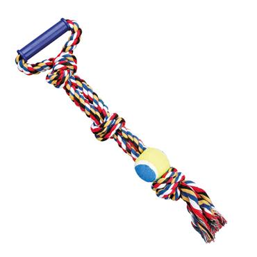 Trixie 50cm Tennis Ball on a Rope Dog Tugger   TX2801