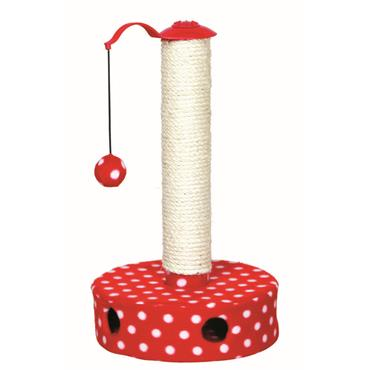 CAT SCRATCHING POST 45CM FLEECE