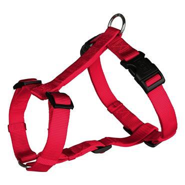Trixie Premium H Dog Harness S - M 40cm - 65cm x 15mm - Red | TX0321