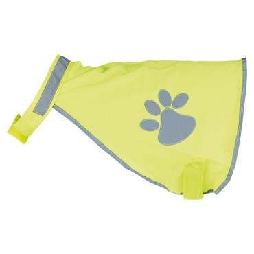 Trixie Dog Safety Hi-Viz Waistcoat Jacket Size 1: 28-42cm   TX0818