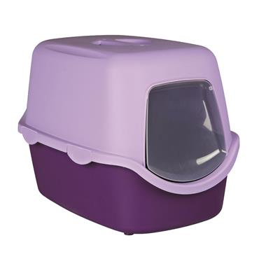 Trixie Vico Litter Tray With Dome 40x40x56cm Purple/Lilac | TX2741
