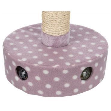 Trixie Fleece Cat Scratching Post with Play Balls | TX9304