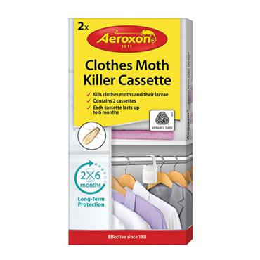 AEROXON CLOTHES MOTH KILLER CASSETTE PACK 2 | AX10