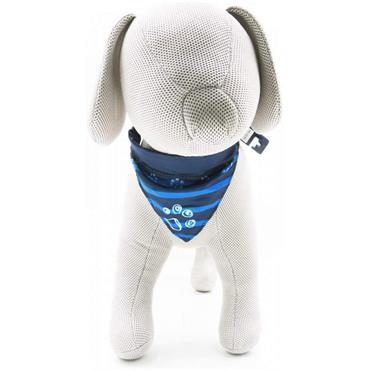 Trixie Dog Collar Neckerchief Small - Indigo | TX9114