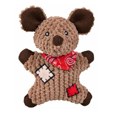 Trixie Mouse with Patches Plush Dog Toy | TX6030