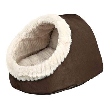 Trixie 'Timur' Cuddly Cave Bed Brown / Beige 35 x 26 x 41cm | TX3201