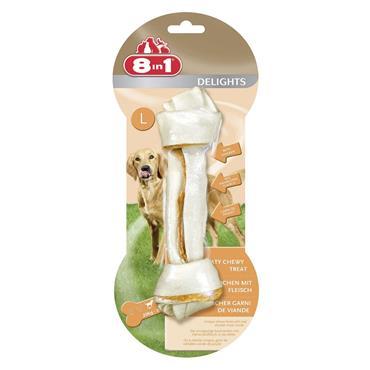 8 in 1 Delights Dog Bone - Large | TA2472