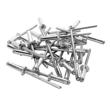 Rapid High Performance Rivets 4.8 x 20mm 50 Pack with Drill Bit | RPD5000391