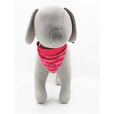 Trixie Dog Collar Neckerchief Medium - Large - Fuchsia | TX9143