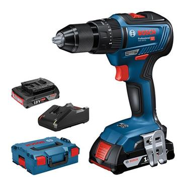 Bosch 18V Brushless Combi Drill with 2 x 2.0ah Batteries | 06019H5370