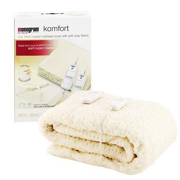 Monogram Komfort King Size Mattress Cover Electric Blanket | 379.63
