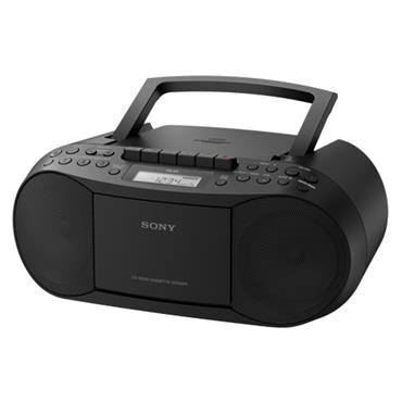 Sony CD & Cassette Boombox with Radio - Black   CFDS70B.CEK