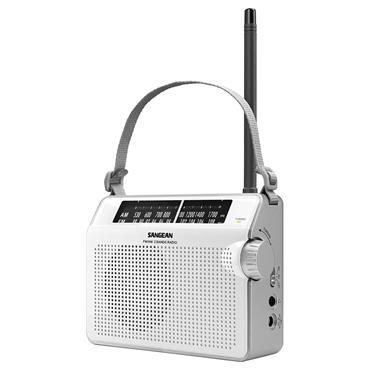 Sangean Portable radio FM AM - White | PR-D6