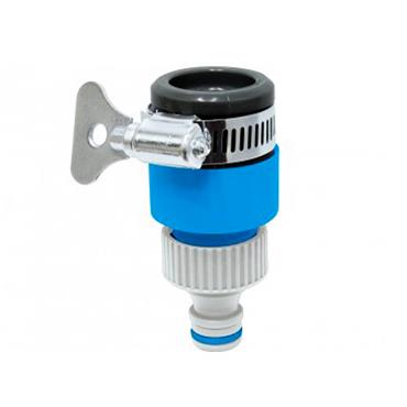 "AQUACRAFT ROUND TAP CONNECTOR 3/4"" 18MM 