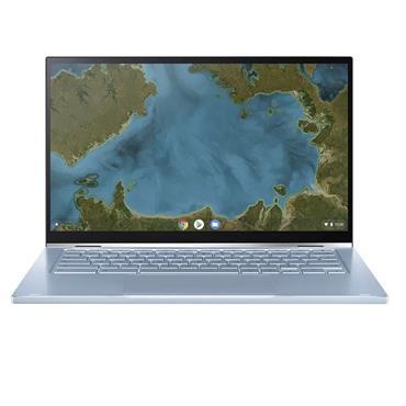 "ASUS Chromebook Flip 14"" Intel Core 64GB 4GB Laptop - Silver | C433TA-AJ0005"